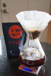 Iced Coffee using Folly Coffee Winer